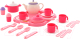 Набор игрушечной посуды Полесье Настенька с подносом на 4 персоны / 59024 (29эл) -