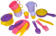 Набор игрушечной посуды Полесье Хозяюшка на 3 персоны / 3995 -