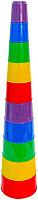 Развивающая игрушка Полесье Занимательная пирамидка №2 / 35110 (10эл, в сеточке) -