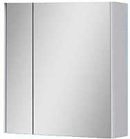Шкаф с зеркалом для ванной Юввис Эльба Z-70 (без подсветки) -