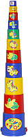 Развивающая игрушка Полесье Занимательная пирамидка №3 / 52599 (11эл) -