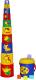 Развивающая игрушка Полесье Занимательная пирамидка №3 / 52605 (16эл) -