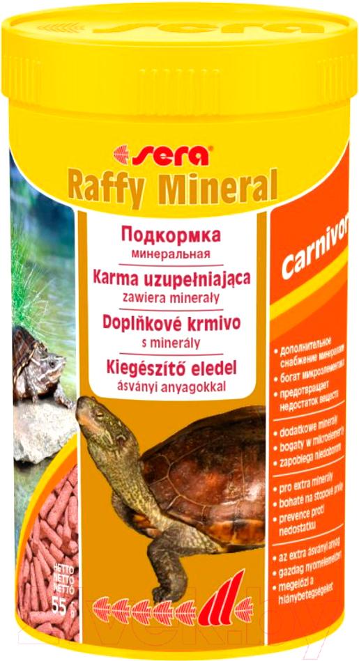 Купить Корм для рептилий Sera, Raffy Mineral 01893 (250мл/55г), Германия