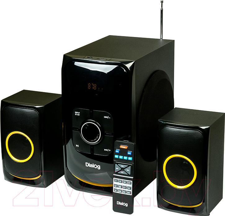 Купить Мультимедиа акустика Dialog, Progressive AP-208 (черный), Китай