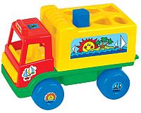 Развивающая игрушка Полесье Грузовик Забава / 6370 (в сеточке) -