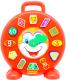 Развивающая игрушка Полесье Часы Клоун / 62741 -