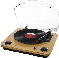 Проигрыватель виниловых пластинок iON MAX LP (дерево) -