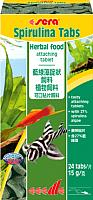 Корм для рыб Sera Spirulina Tabs 00920 -