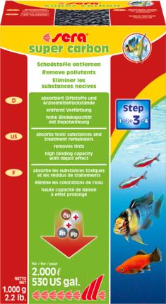 Купить Наполнитель фильтра Sera, Super Carbon 8405, Германия