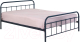 Односпальная кровать Halmar Linda 120x200 (черный) -