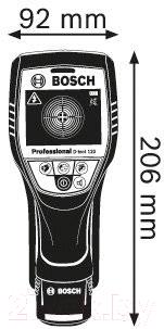 Детектор скрытой проводки Bosch D-tect 120 (0.601.081.300)