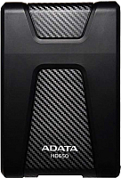 Внешний жесткий диск A-data DashDrive Durable HD650 2TB Black (AHD650-2TU31-CBK) -