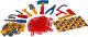 Набор инструментов игрушечный Полесье №6 / 47205 (132эл) -