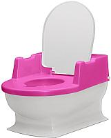 Детский горшок Reer Sitzfritz / 9044112 (розовый/белый) -