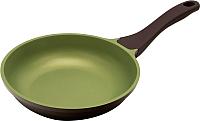 Сковорода Polaris Safari-28F (коричневый/зеленый) -