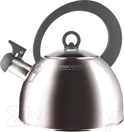 Купить Чайник со свистком Rondell, Strike RDS-922, Китай, нержавеющая сталь