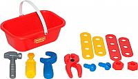 Набор инструментов игрушечный Полесье Механик / 56061 (12эл) -