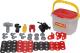 Набор инструментов игрушечный Полесье Механик / 56603 (32эл, в ведерке) -