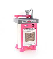 Посудомоечная машина игрушечная Полесье Carmen №1 с посудомоечной машиной / 47922 (в пакете) -