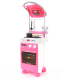 Кухонная плита игрушечная Полесье Carmen №4 с варочной панелью и духовым шкафом / 47953 (в пакете) -
