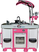 Игровой набор Полесье Carmen №7 с посудомоечной машиной и варочной панелью / 47991 (в пакете) -