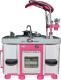 Детская кухня Полесье Carmen №7 с посудомоечной машиной и варочной панелью / 47991 (в пакете) -