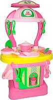 Детская кухня Полесье Изящная №1 / 42583 (в коробке) -