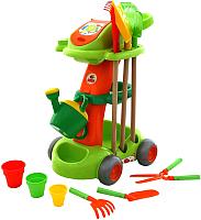 Тележка с инструментами игрушечная Полесье Садовый / 54548 (в пакете) -