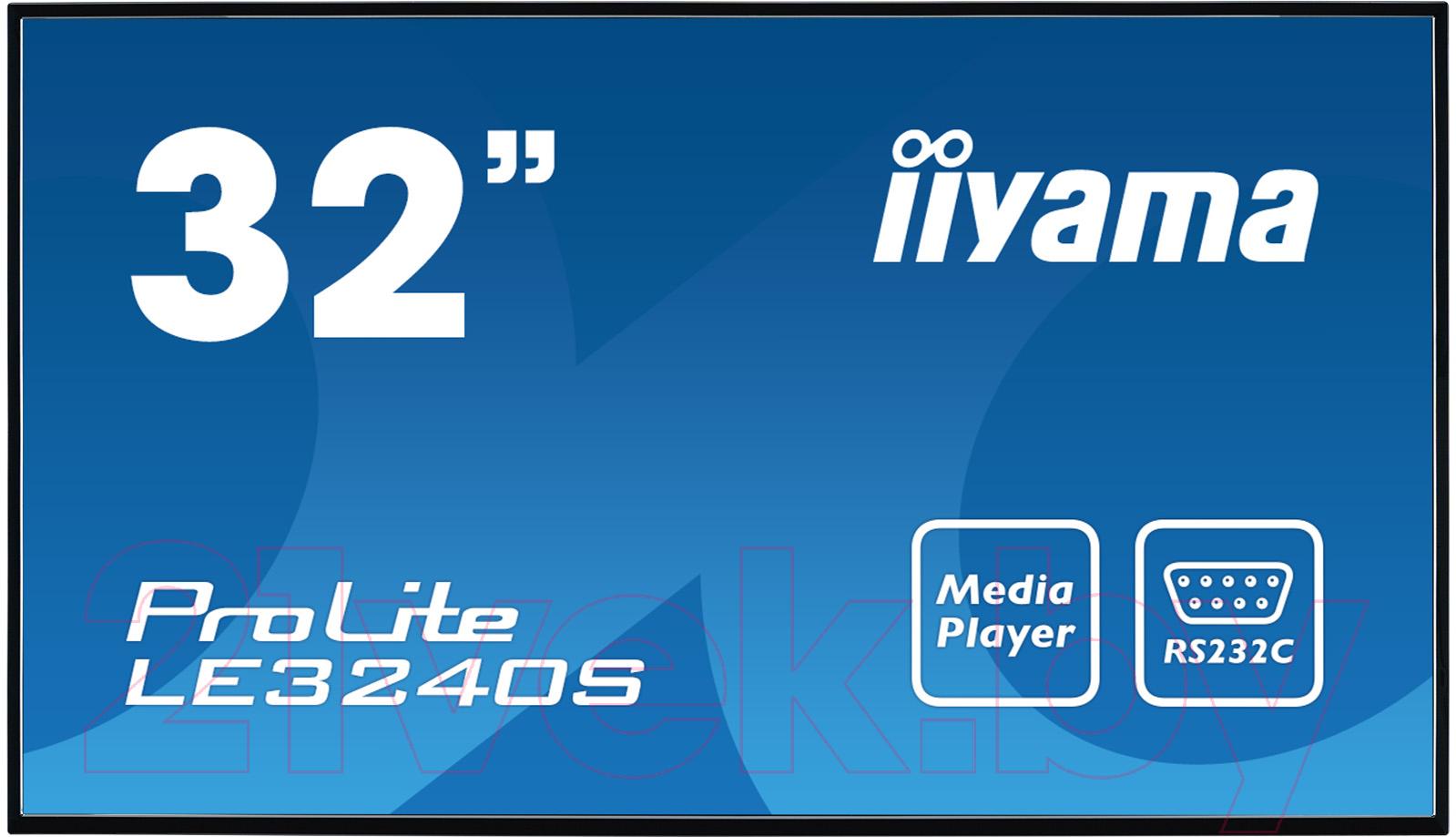 Купить Информационная панель Iiyama, ProLite LE3240S-B1, Япония