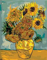 Картина по номерам Picasso Подсолнухи (Ван Гог) (PC4050267) -