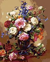 Картина по номерам Picasso Розы и пионы (PC4050278) -