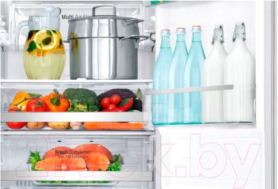 Холодильник с морозильником LG GA-B499SEKZ