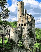 Картина по номерам Picasso Замок на скале (PC4050311) -