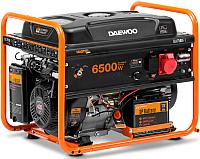 Бензиновый генератор Daewoo Power GDA 7500E-3 -