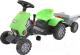 Каталка детская Полесье Turbo-2 Трактор с педалями и полуприцепом / 52742 -