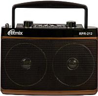 Радиоприемник Ritmix RPR-212 (коричневый) -