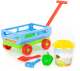 Тележка с игрушками для песочницы Полесье №420 / 38586 -