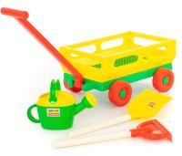 Тележка с игрушками для песочницы Полесье №482 / 45706 -