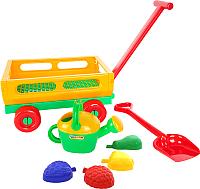 Тележка с игрушками для песочницы Полесье №483 / 45713 -
