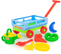 Тележка с игрушками для песочницы Полесье №484 / 45720 -