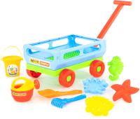 Тележка с игрушками для песочницы Полесье №487 / 45751 -
