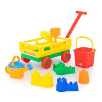 Тележка с игрушками для песочницы Полесье №493 / 45812 -