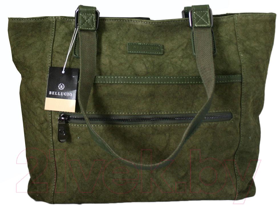 Купить Сумка Bellugio, NC-5081 (зеленый), Китай, текстиль