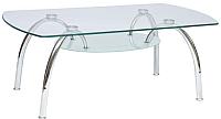 Обеденный стол Halmar Corwin Bis (прозрачный) -