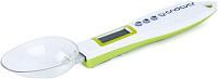 Кухонные весы Endever SkyLine KS-513 (белый/зеленый) -