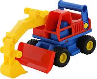Экскаватор игрушечный Полесье КонсТрак / 9708 (в сеточке) -
