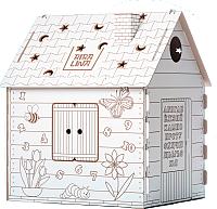 Сборная игрушка BibaLina Дом-раскраска / КДР03-001 -