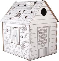 Детский игровой домик BibaLina Дом-раскраска / КДР03-001 -