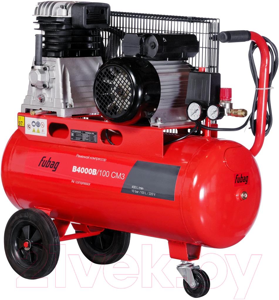 Купить Воздушный компрессор Fubag, B4000B/100 CM3 (45681496), Китай