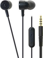 Наушники-гарнитура Audio-Technica ATH-CKL220iS (черный) -